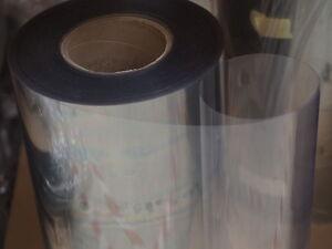 Pet Folie 0 4 Mm Breite 0 54 M Hart Transparent Glasklar Zum