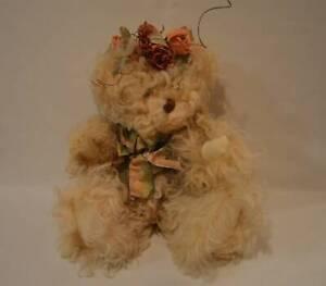 Francy-Gordon-Artist-Bear-034-Melissa-034-From-Healing-Heart-Series-Curly-Lamb-Fur