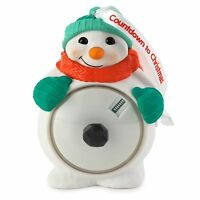 Countdown To Christmas 2015 Hallmark Ornament - Snowman - Digital Countdown