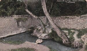 CHELTENHAM-SOURCE-OF-THAMES-COLOUR-POSTCARD-1909