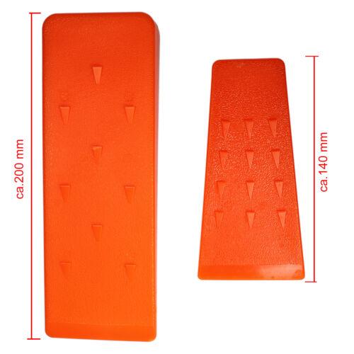 20cm fällkeil scheitkeil nachsetzkeil treibkeil Cuña de plástico 14cm o