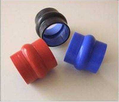 "OVERSTOCK Turbonetics 2.75/"" silicone hump hose connector BLUE intake intercooler"