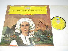 LP/TSCHAIKOWSKY SYMPHONIE 5/MRAWINSKIJ/DGG 138658 red stereo