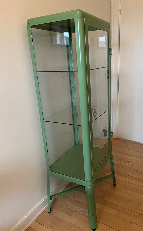 Vitrineskab, Ikea, b: 50 d: 40 h: 152