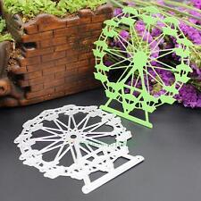 Ferris Wheel Metal Cutting Dies Scrapbooking Stencils DIY Embossing Folder Decor