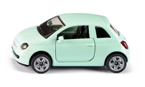 Siku-1453-FIAT-500-auto-giocattolo-per-bambini-in-metallo-plastica-gomma-gomme-Verde
