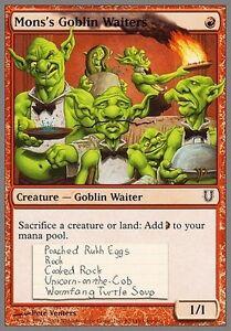 4x-Mons-039-s-Goblin-Waiters-MTG-Magic-Unh-Unhinged-English