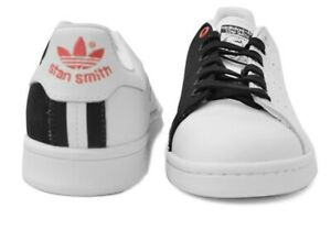 Adidas-Stan-Smith-Womens-White-amp-Black-Athletic-Shoes-EE5305-Size-7-Women-s