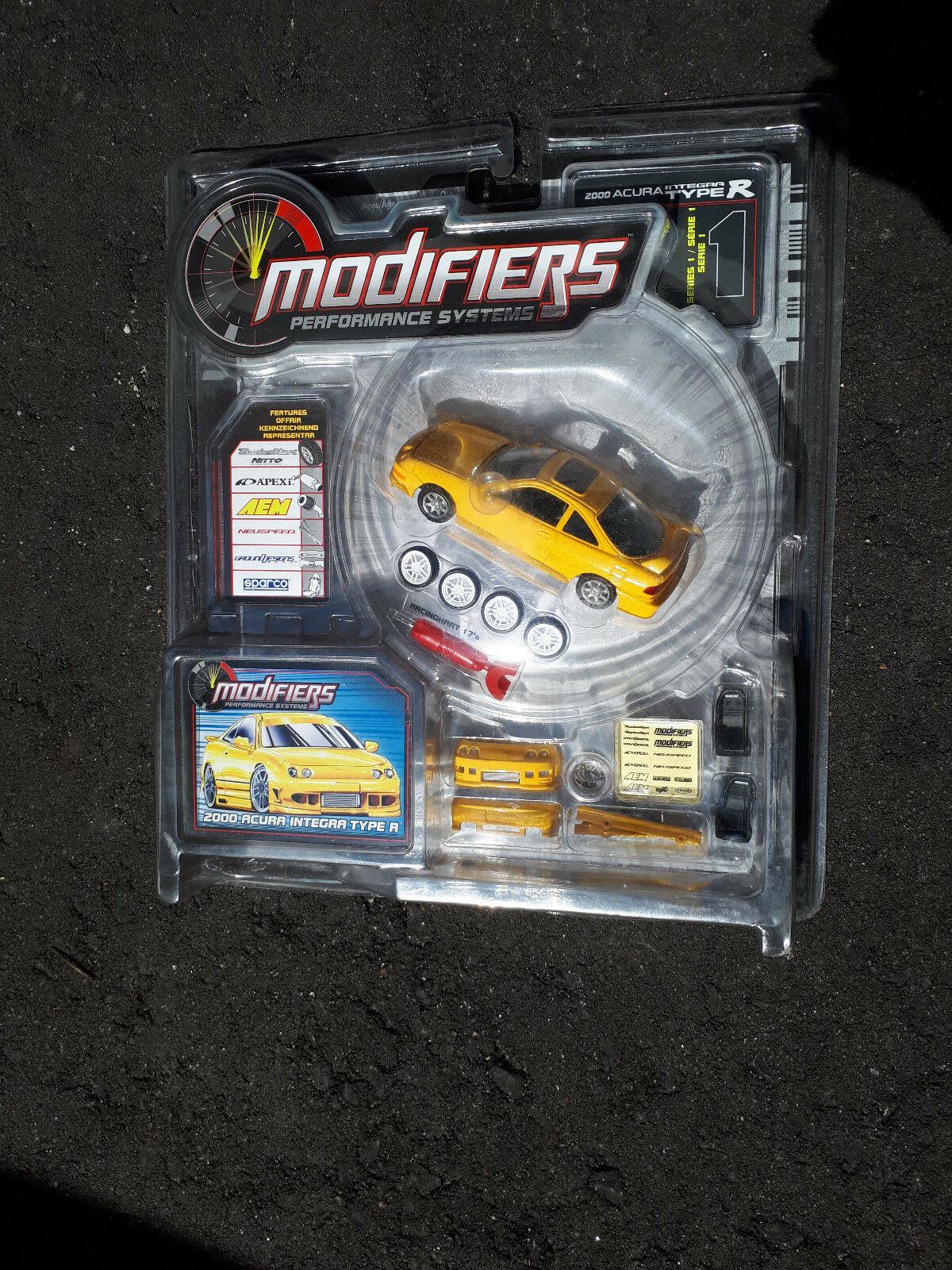 Modifiers 1 43 Series 1 - 2000 Acura Integra Type R Concepts