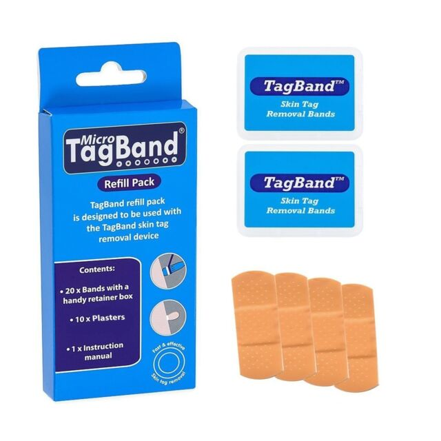 Micro Tagband Refill Band Pack For Skin Tag Remover Device For