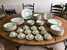 Tiffany China Dinner Service for 12, Somerset Pattern by Minton for Tiffany