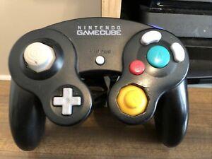 Genuine-OEM-Nintendo-GameCube-Controller-Platinum-Black-DOL-003-Tested-Cleaned