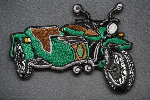 motorcycle ural overland ADRIFT VENTURE SIDECAR CRUISER GITD MORALE PATCH