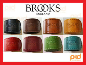 BROOKS-ENGLAND-Leather-Trouser-Strap-ALL-COLORS-Black-Brown-Red-Green-Red-Honey