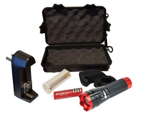 Rechargeable Battery Battery Charger Bike Light Kit with Bike light holder