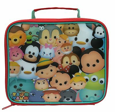 Disney Tsum TsumMickeyMinnieMarieSulley Insulated School Lunch Bag