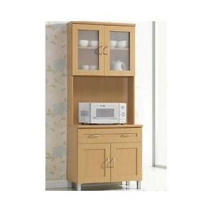 Kitchen Hutch Buffet China Cabinet Storage Cupboard Pantry Drawers Shelf Wood
