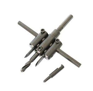 FRESA A COMPASSO PER FORARE CARTONGESSO DA 30 A 120mm