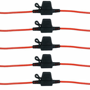 Hot-Sale-5-x-auto-in-linea-lama-portafusibili-impermeabile-Splash-Proo-lx
