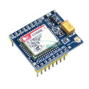 Details about GPRS SIM800C GSM Module 5V/3 3V TTL STM32 C51 with Bluetooth  and TTS for Arduino