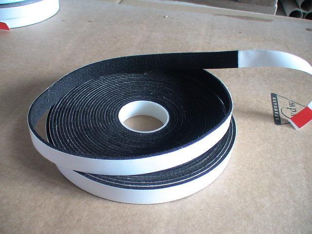 5m Filzklebeband creme-weiß einseitig selbstkl.1,3mm dick 10mm breit