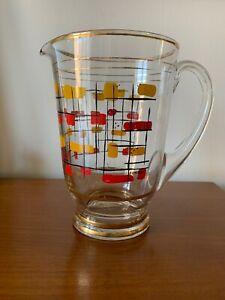 Vintage-Mid-Century-Glass-Jug-1950-s-1960-s