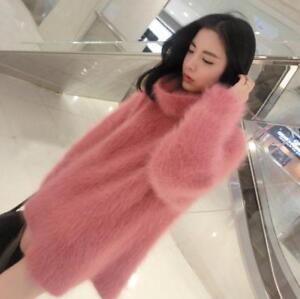 Women-Cashmere-Mink-Fur-Sweater-Warm-Pullover-Turtleneck-Knitted-Warm-Coat-2019