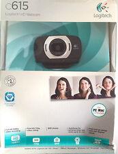 Logitech C615 Full HD 1080p Webcam USB Built-in Mic 8MP Autofocus 960-000733 NEW