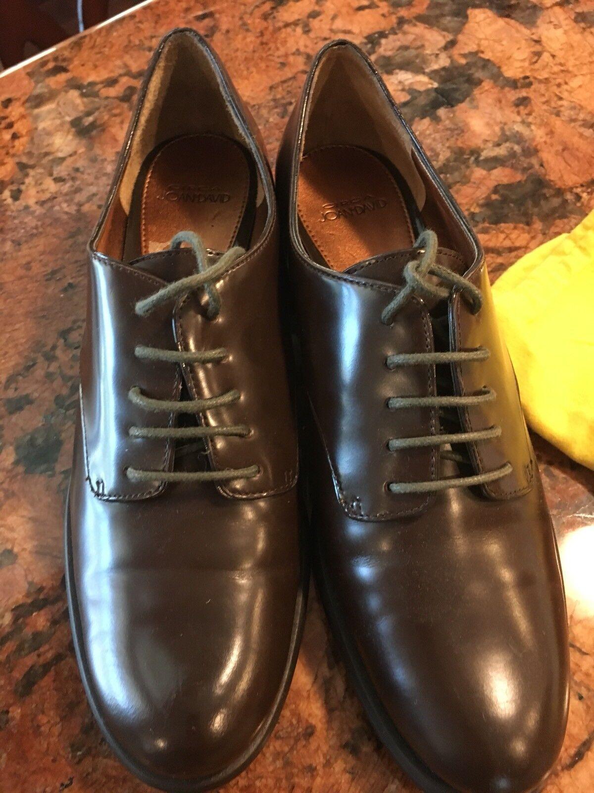 Circa Joan And David 7M Brown Oxford Wingtip Women's shoes