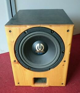 aktiv subwoofer 25cm 10 pioneer mivoc ebay. Black Bedroom Furniture Sets. Home Design Ideas