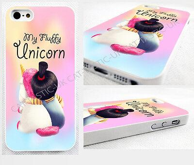 thin case,cover for iPhone>MINIONS>fluffy>AGNES>unicorn>despicable,minion design
