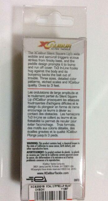 XCalibur XCS300 Square Lip Wobbler 7,62cm verschiedene Farben