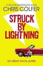 Struck by Lightning : The Carson Phillips Journal by Chris Colfer (2013, Paperback)