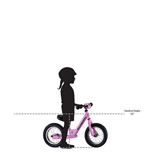 Sans Pédales Enfants Vélo environ 30.48 cm Rose SCHWINN Vélos Enfants Vélo Équilibre 12 in