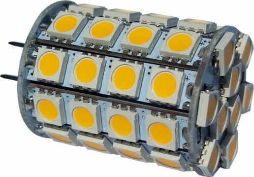 Eq. to 50W Halogen Dimmable 12V AC DC LED GY6.35