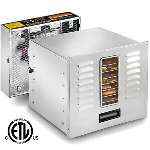 STX-Dehydra-1200W-XLS-10-Tray-Stainless-Steel-Food-Dehydrator-165-F-Jerky-Safe
