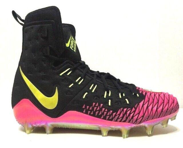 Nike Force Savage Elite TD Football Cleats Black Mens 857063 076 Choose Size