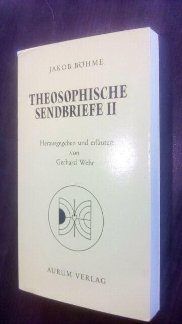 Theosophische Sendbriefe II