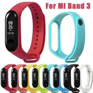 Soft-Silikon-Armband-Sport-Uhrenarmband-Ersatz-Strap-fuer-Xiaomi-Mi-Band-3