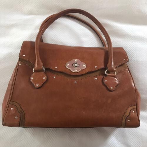 Michael Kors Brown Handbag Leather Cognac