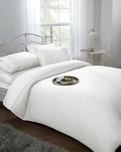 300-Thread-Count-Luxury-Duvet-Cover-Set-White-Hotel-Quality-Cotton-Double