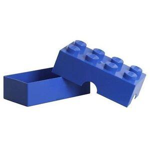 Lego-Mittagessen-Aufbewahrungsschachtel-Blau-Offizieller-Kinder-Schule-Jausenbox