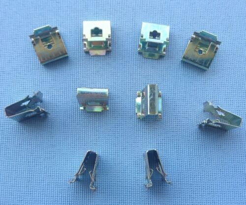 20x Metall Halterung Klemme Metall Halterklammern Steckklammer für BMW  288