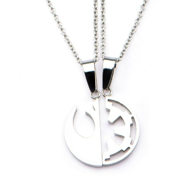 Officially Licensed Star Wars Rebel And Imperial Symbol Best Friends