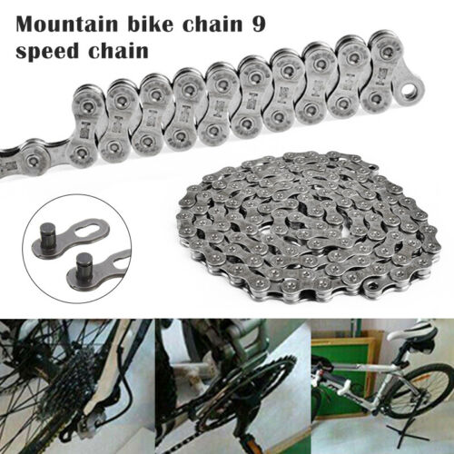CN-HG73 9 Speed 116 Links Bicycle Chain Mountain Bike for Shimano Deore LX 105