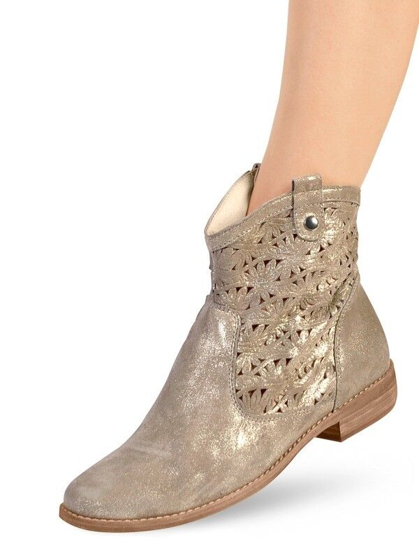 Zapatos especiales con descuento SCHUHE STIEFEL STIEFELETTEN LEDER von SEMLER  Gr. 8 ( 42 ) Weite H