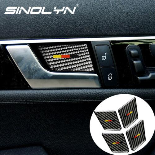 Door Handle Bowl Cover Decal For Benz C-Class W204 C350 C230 C280 C63//C55 AMG