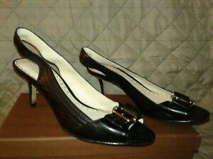 Womens-Black-Coach-034-Jolie-034-Heels-Size-6-5-M