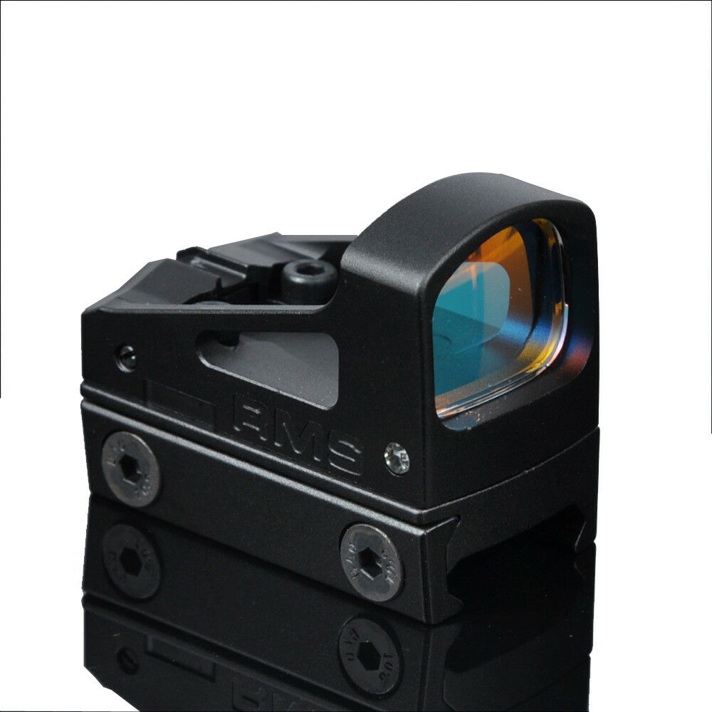 RMS 3.25 MOA Red Dot Sight Reflex Sight with Vented Mount and Spacers for Pistol