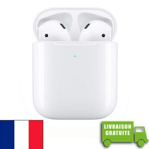 Airpods 2 case apple wireless sansfil air pods 2 earphones headphones original